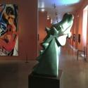 Cheval Cubiste de Guernica Grand Fonte du Bronze