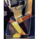 Arlequin cubiste en trois dimensions